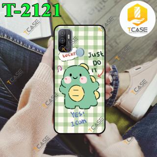 [HCM]Ốp lưng Oppo A53 A32 2020 in hình Khủng Long Xanh Cute Phần B thumbnail