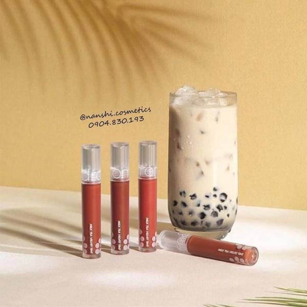 Son kem lì Romand Milk Tea Velvet Tint, sản phẩm tốt, chất lượng cao, cam kết như hình, inbox để được tư vấn rõ hơn cao cấp