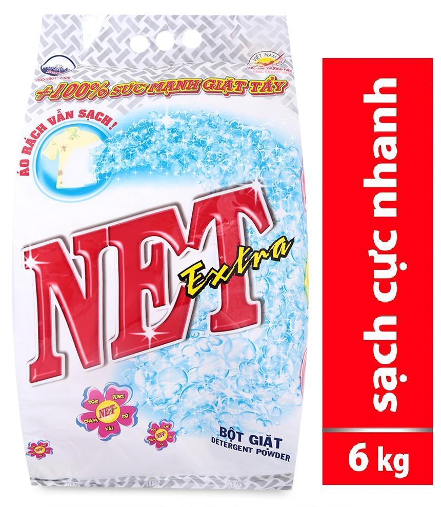 Deal Khuyến Mãi Bột Giặt Net Extra Hương Hoa Thiên Nhiên 6kg