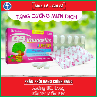 [HCM]GS Imunostim Junior Hộp 20 viên - Hỗ trợ tăng cường chức năng hệ miễn dịch cho trẻ em thumbnail