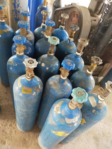 bình khí Argon, Co2 đã qua sử dụng