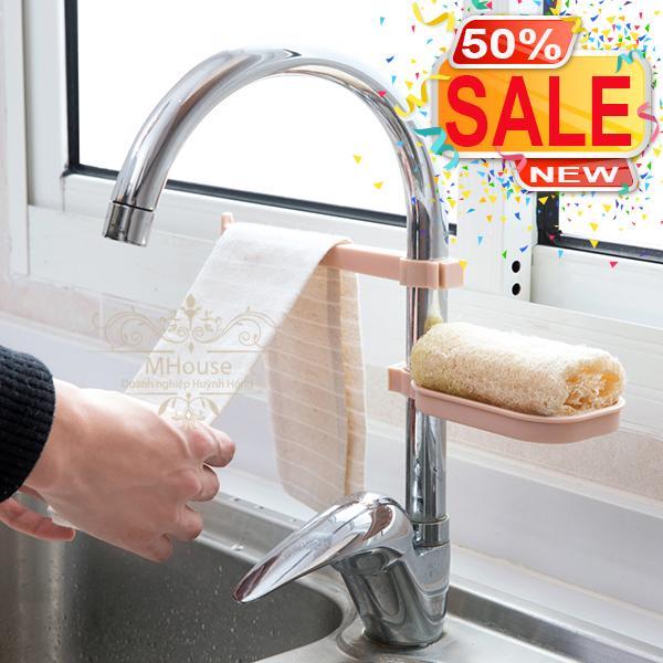 Bộ kệ đa năng tiện ích gắn vòi nước vòi sen nhà bếp nhà tắm.
