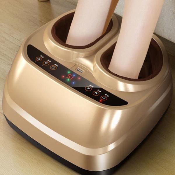Máy mát-xa trị liệu chân, Máy mát xa bấm huyệt bàn chân chăm sóc massager chân tự động cao cấp