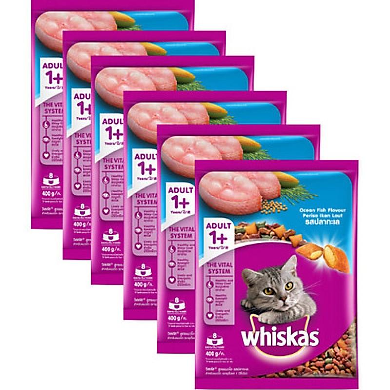 Thức ăn khô cho mèo Whiskas - 400g