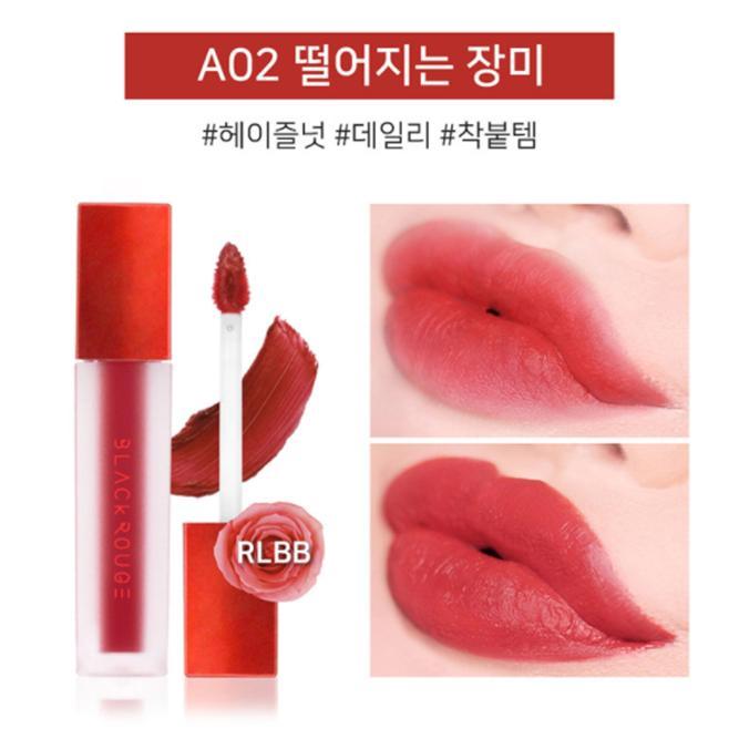Son Kem Lì Black Rouge Air Fit Velvet Tint TẶNG nạ môi tốt nhất