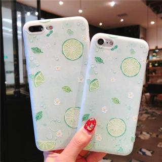 Ốp lưng silicon dẻo hoạ tiết chanh thanh mát cho các dòng iPhone 6 - 6s - 6Plus - 6sPlus - 7 - 7Plus - 8 - 8Plus - X - Xs thumbnail