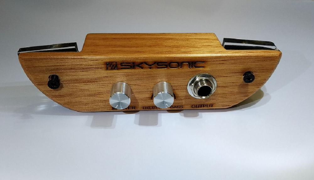 Pickup gắn trống cajon Skysonic ( bộ thu âm cajon )