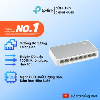 Bộ Chia Tín Hiệu TP-Link TL-SF1008D Switch Để Bàn 8 Cổng 10/100Mbps - Hãng phân phối chính thức