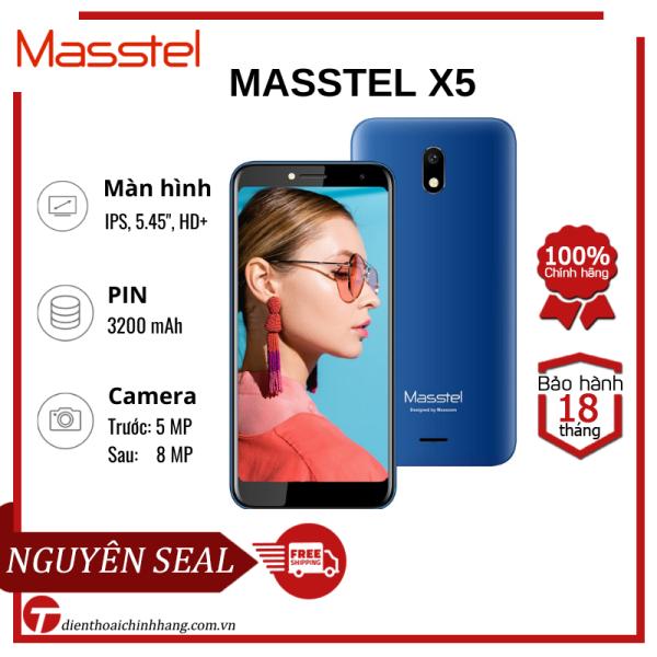 Điện thoại MASSTEL X5 RAM 1GB/8GB - Màn hình sắc nét, lướt web mượt mà, Pin bền, sóng khỏe, thỏa sức trải nghiệm, giá bình dân cho HSSV, người thu nhập thấp