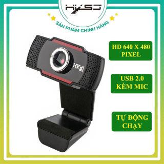 Webcam máy tính HXSJ S20 ( GIẢM GIÁ CỰC SỐC ) Webcam pc laptop học online, trực tuyến , Webcam HD tích hợp Mic truyền tải âm thanh trung thực, hình ảnh sắc nét - Hàng Chính Hãng thumbnail
