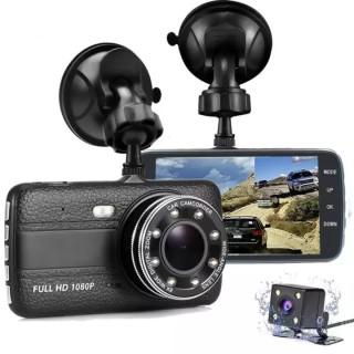 Camera Hành Trình Xe Ôtô X004 FULL HD 1080P - Camera 4.0 - Camera giám sát hành trình xe ô tô - Kèm 2 cam trước và sau full HD-Hình Ảnh Rõ Nét. Đạt Chuẩn Quốc Tế, Phù Hợp Cho Mọi Loại Xe. thumbnail