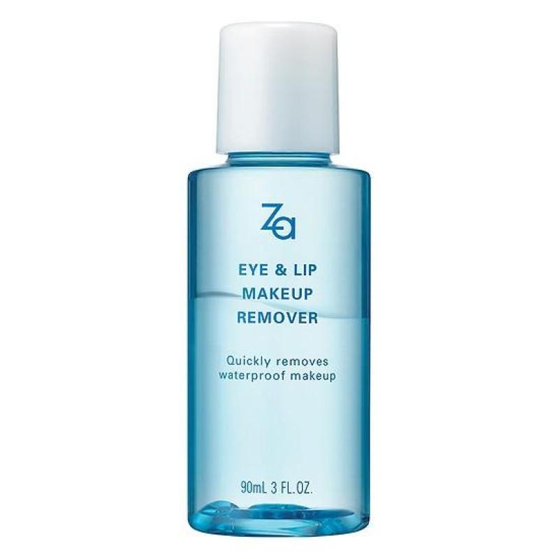 Nước tẩy trang mắt, môi Za Eye & Lip Makeup Remover 90ml Dung dịch cao cấp