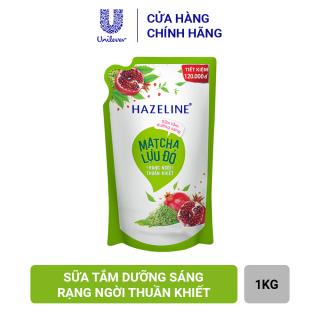 Sữa Tắm Hazeline Matcha & Lựu Đỏ - Sáng Ngời Thuần Khiết (Túi 1kg) thumbnail