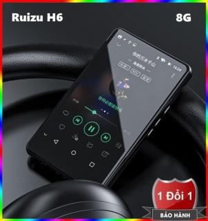 Máy nghe nhạc trực tuyến MP3 RUIZU H6 Màn hình cảm ứng Kết nối Wifi Bluetooth Dung lượng 8GB - Máy nghe nhạc MP3 MP4 hỗ trợ Wifi Bluetooth Ruizu H6 bộ nhớ trong 8GB thumbnail