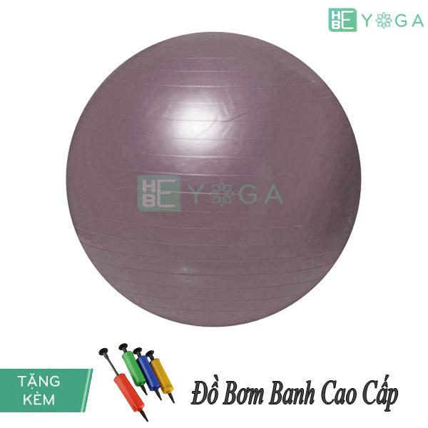 Bảng giá Bóng Tập Yoga Trơn 65 Cm Cao Cấp Kèm Bơm