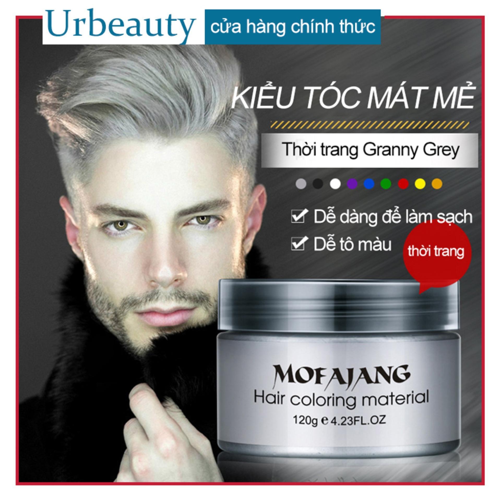 【Urbeauty】WAX đổi màu tóc đến từ Japan. Wax đổi màu tóc cho mùa tết 2019 không gây bám dính tay