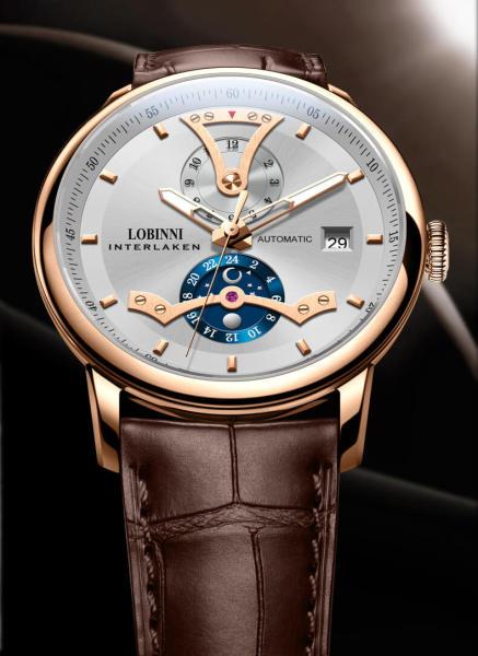 Đồng hồ nam chính hãng Lobinni No.18018-1