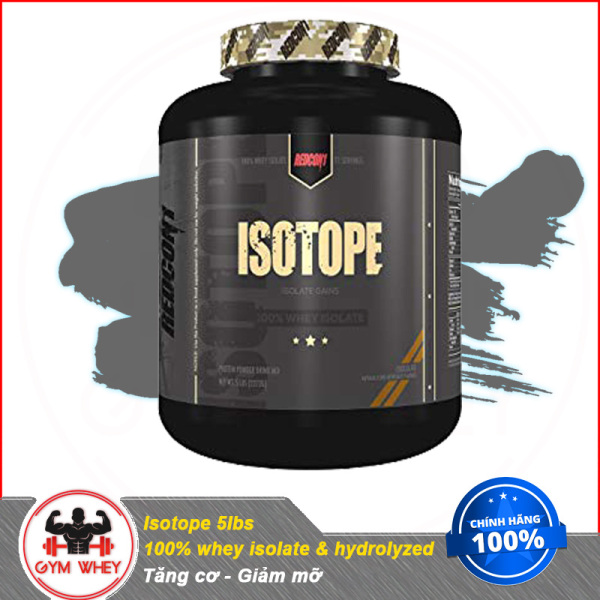 [Lấy mã giảm thêm 30%]Sữa Tăng Cơ Bắp 100% isolate Whey Isotope 5lbs - Redcon1 Authentic 100%