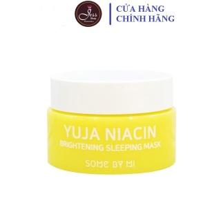 Mặt Nạ Ngủ Dưỡng Trắng Some By Mi Yuja Niacin 30 Days Miracle Brightening Sleeping Mask 15g thumbnail