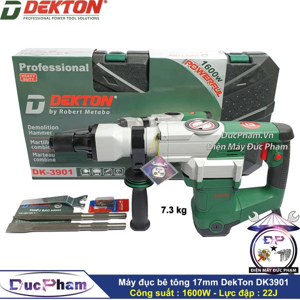 Máy đục bê tông 17mm Dekton DK3901 1600W ( Công Ty ) - Máy đục bê tông 17 ly