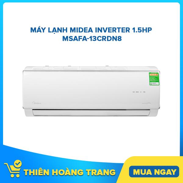 Bảng giá Máy lạnh Midea Inverter 1.5 HP MSAFA-13CRDN8