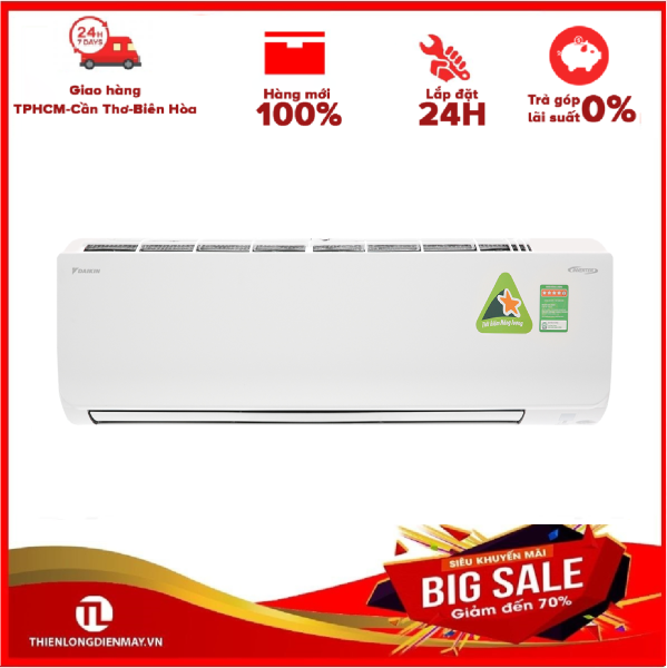 [Trả góp 0%]Máy lạnh Daikin Inverter 2.0 HP FTKM50SVMV