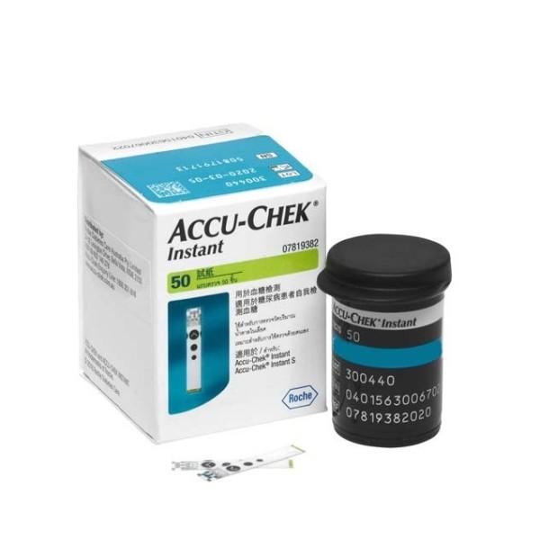 Nơi bán Que thử đường huyết Accu-Chek Instant (Hộp 50 que)