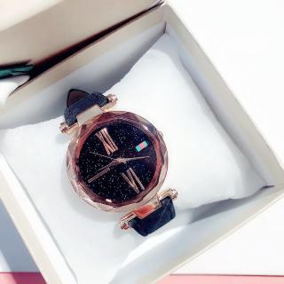 Đồng hồ thời trang nữ Huans H68 dây da nhung J60 thumbnail