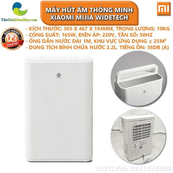 [Trả góp 0%]Máy hút ẩm thông minh Xiaomi Mijia WIDETECH 12L - Bảo hành 12 tháng - Shop Thế Giới Điện Máy