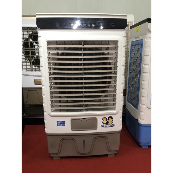 Quạt điều hòa quạt hơi nước Coolsummer YK JX6 200W 50 Lít Model 2020 Mặt kính Bảo hành 24 tháng