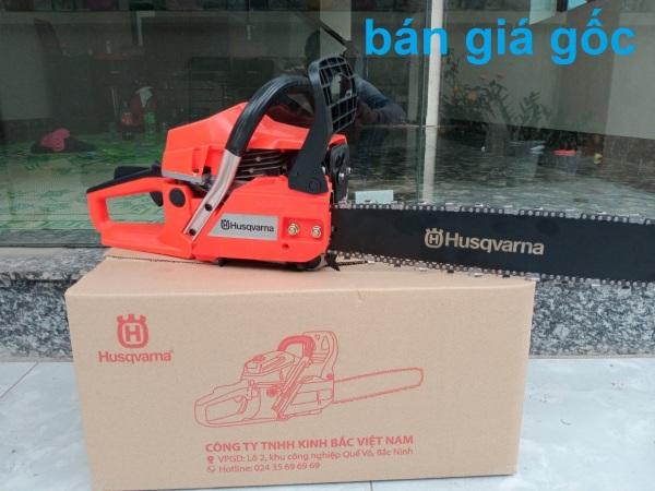 Máy cưa xích chạy xăng husqvarna 365- máy cưa chạy xăng