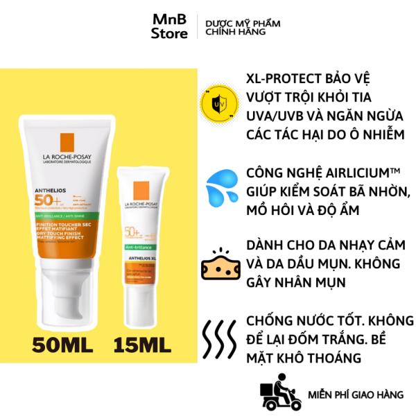 Kem Chống Nắng La Roche Posay Anthelios XL SPF 50+ Dry Touch Gel-Cream Anti-Shine 50 ml