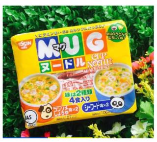 Mì MUG vàng vị hải sản nội địa Nhật ăn liền cho bé ăn dặm và ăn sáng date T12 2021 - Bopbabop đồ chơi trẻ em thumbnail