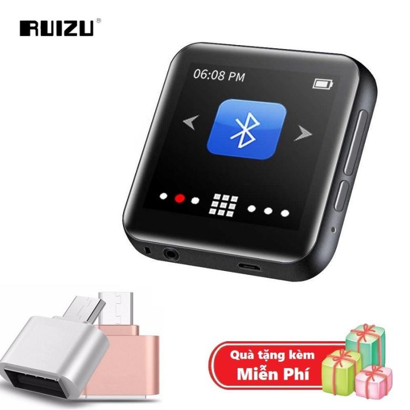 ( Quà tặng Đầu OTG cho điện thoại Android ) Máy nghe nhạc MP3 Bluetooth cao cấp Ruizu M9 - Hifi Music Player Ruizu M9 - Màn hình cảm ứng 1.8inch - Máy nghe nhạc Lossless Ruizu M9