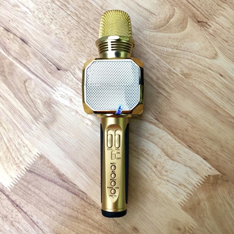 Micro Karaoke Kèm Loa Bluetooth SD-10 siêu trầm
