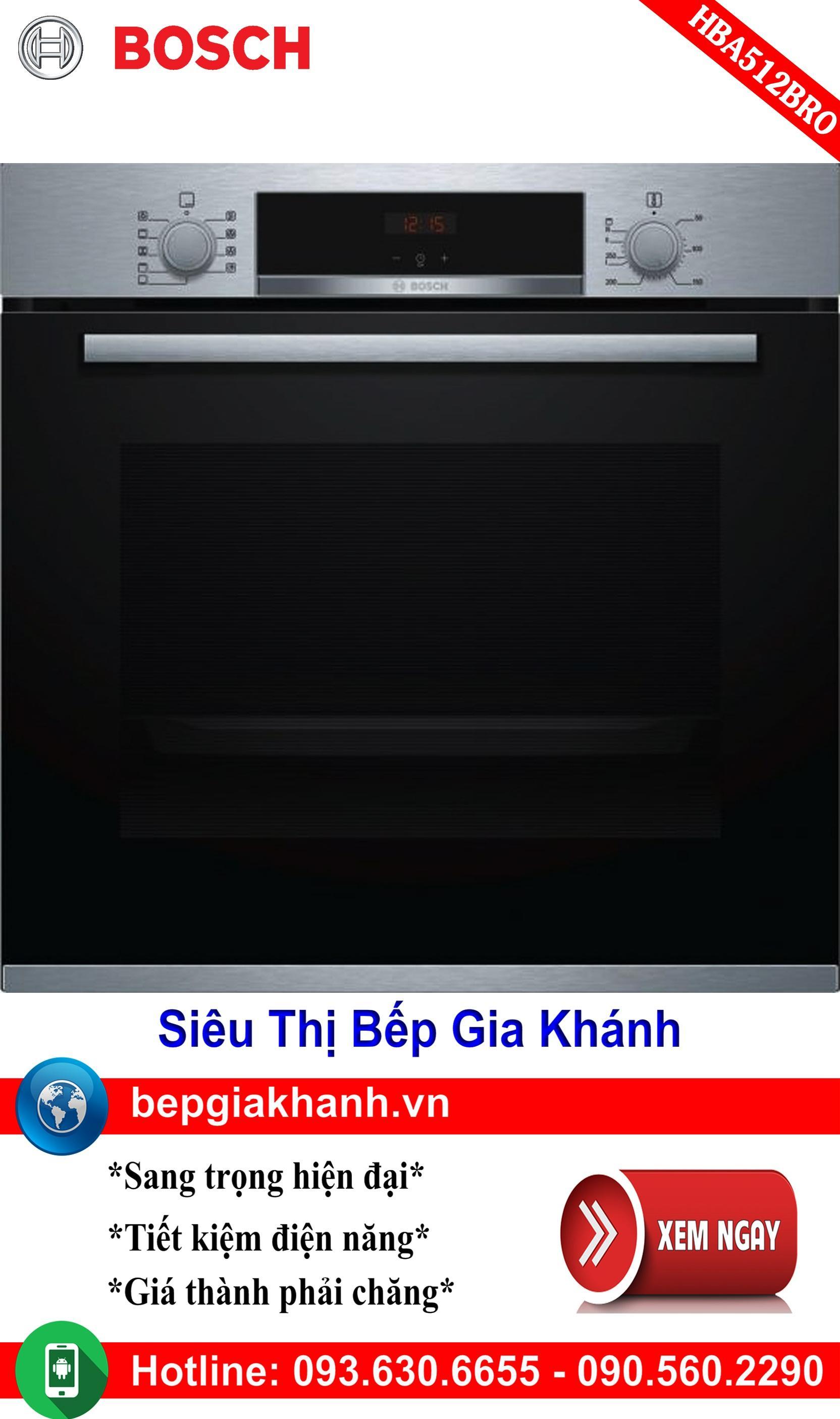 Lò nướng điện đa năng Bosch HBA512BRO, lò nướng điện, lò nướng bánh, lò nướng thủy tinh, lò nướng bánh mì, lò nướng bánh bông lan