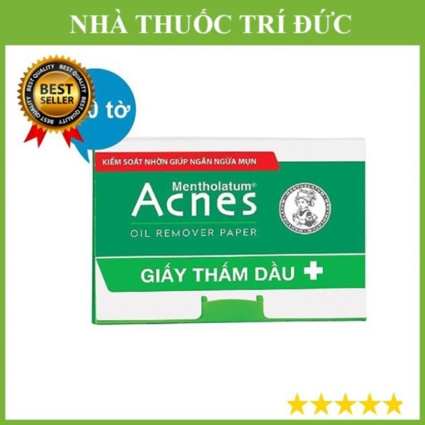 Giấy thấm dầu Acnes Oil Remover Paper (100 tờ)