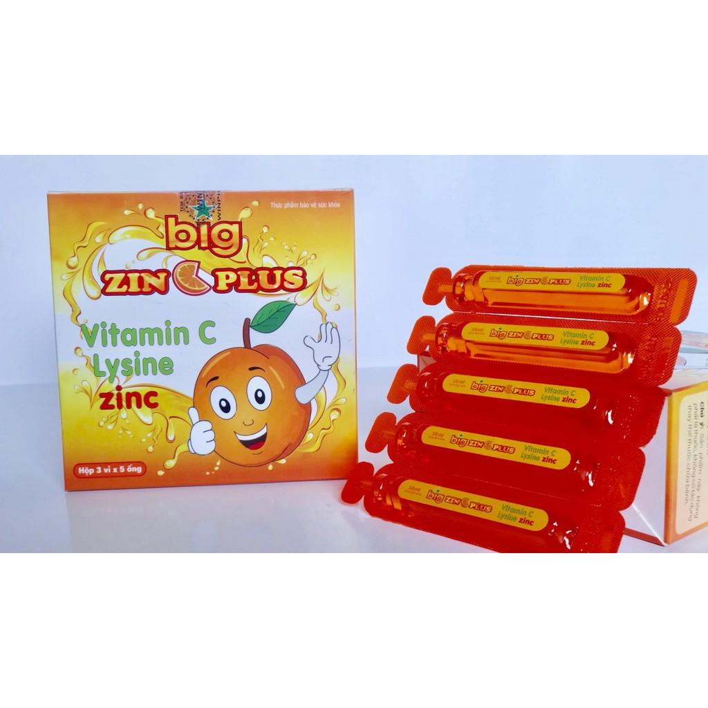 zinc plus vitamina c)