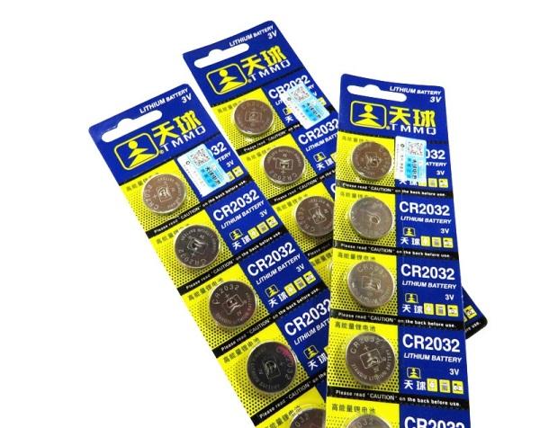 Bảng giá Bộ 5 Viên Pin Cmos Cr2032 3V Cao Cấp Phong Vũ