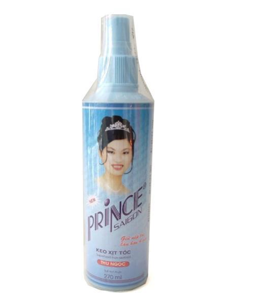 Keo xịt tóc Prince Sài Gòn