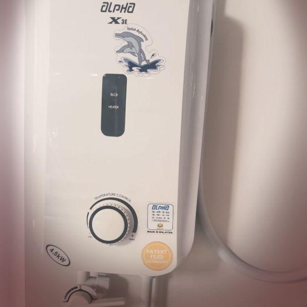 Bảng giá Máy nước nóng nhập khẩu Alpha X3E Điện máy Pico