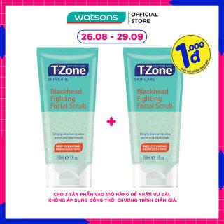[1000đ SẢN PHẨM THỨ 2] Kem Tẩy Tế Bào Da Newtons Labs T-Zone Blackhead Fighting Facial Scrub Loại Bỏ Mụn Đầu Đen 150ml thumbnail