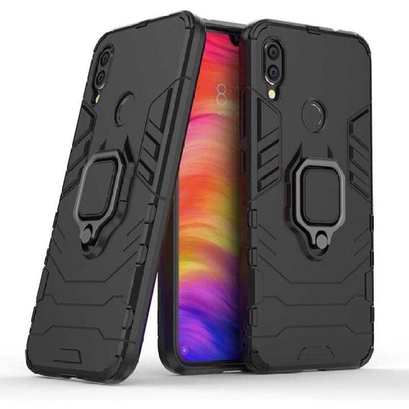 Giá [3 MÀU] Ốp lưng cho Xiaomi Redmi Note 7 iRON - MAN IRING Nhựa PC cứng viền dẻo chống sốc