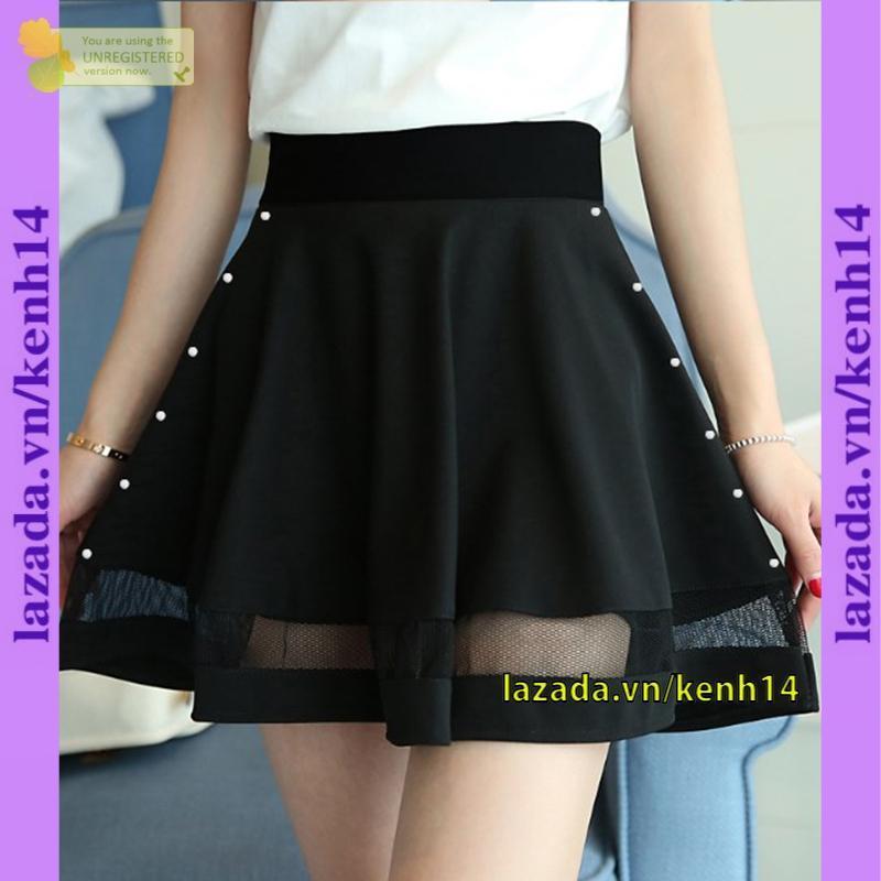 Chân váy hạt cườm 2 bên phối lưới k14 MT745 thần thánh siêu đẹp 2020 hàn quốc dành cho nữ siêu hot korea Siêu phẩm