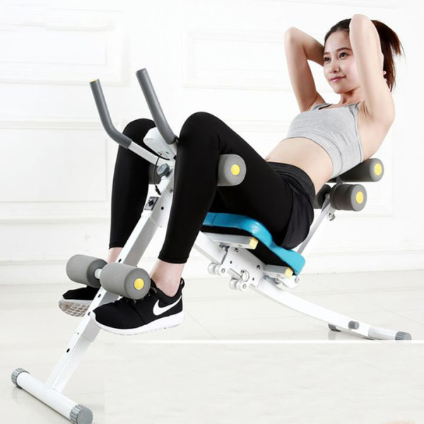 Máy tập cơ chính và cơ bụng đa năng, Ghế tập cơ bụng tại nhà gấp gọn - Versatile abdominal training chair, exercise machines