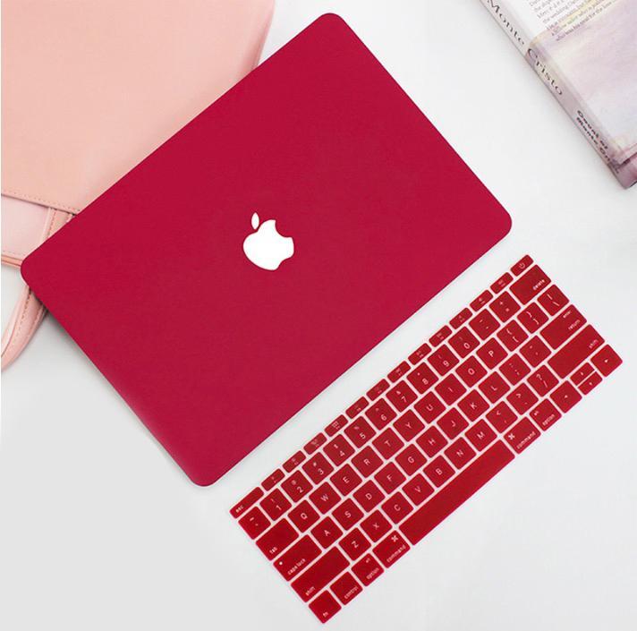 Bảng giá Combo Ốp Macbook Pro retina 13 inch 2013/15 Kèm Phủ Phím Đỏ Đô Phong Vũ