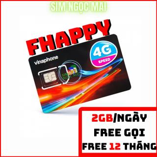 Sim 4G Vina 12FHAPPY Trọn Gói 1 năm Không Cần Nạp Tiền - Sim 12VD89 thumbnail
