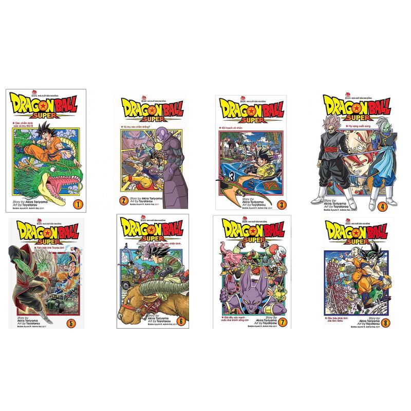 Mua Combo Dragon Ball Super (08 cuốn)