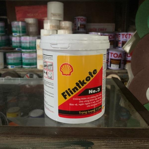 Sơn chống thấm Flintkote 1 lít, chất lượng đảm bảo an toàn đến sức khỏe người sử dụng, cam kết hàng đúng mô tả