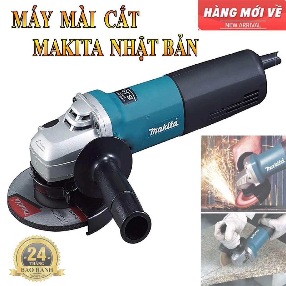 Máy mài Makita 9556 b Công suất 840W Động cơ mãnh mẽ Cửa hàng chính góc nhận cung cấp máy mài cắt cho công trình lớn.